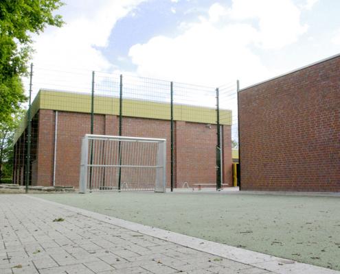 Fussballfeld der GS Nordhorn