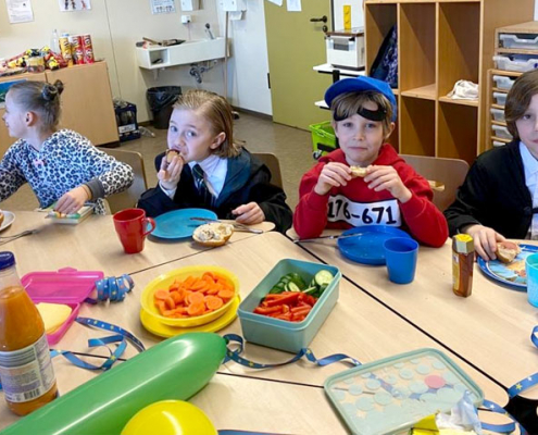 Buntes Frühstück an der Europachule Nordhorn