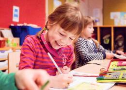 Kinder im Unterricht