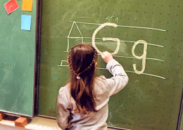 Buchstaben lernen