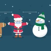 Weihnachtsdistancing